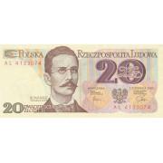 Lenkija. 1982 m. 20 zlotų