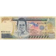 Filipinai. 2004 m. 500 pesų