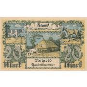Klaipėda. 1922 m. 20 markių