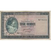 Čekoslovakija. 1945 m. 1.000 korunų