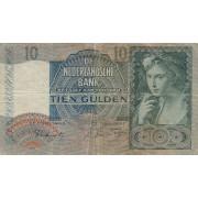 Nyderlandai. 1942 m. 10 guldenų