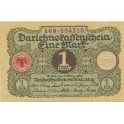 Vokietija. 1920 m. 1 markė. aUNC