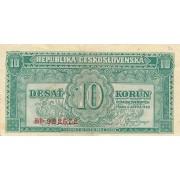 Čekoslovakija. 1950 m. 10 korunų