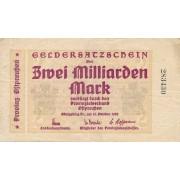 Karaliaučius. 1923 m. 2.000.000.000 markių. VF-