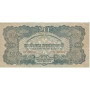 Vengrija. 1944 m. 20 pengo