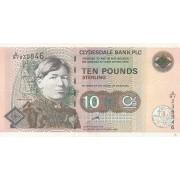 Škotija. 1999 m. 10 svarų