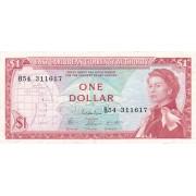Rytų Karibų Salos. 1965 m. 1 doleris