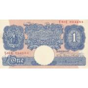 Didžioji Britanija. 1940-1948 m. 1 svaras
