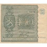Suomija. 1945 m. 100 markių