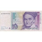 Vokietija. 1993 m. 10 markių