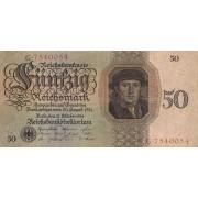 Vokietija. 1924 m. 50 reichsmarkių