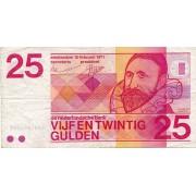 Nyderlandai. 1971 m. 25 guldenai