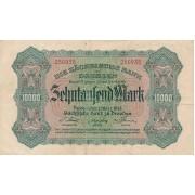 Vokietija / Dresdenas. 1923 m. 10.000 markių