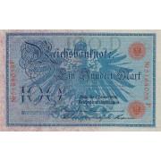 Vokietija. 1908 m. 100 markių