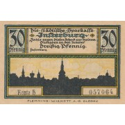 Įsrutis. 1920 m. 30 pfennigų