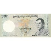 Butanas. 2006 m. 100 ngultrumų