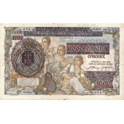Serbija. 1941 m. 1.000 dinarų