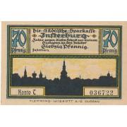 Įsrutis. 1920 m. 70 pfennigų