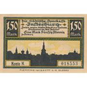 Įsrutis. 1920 m. 1.5 markės