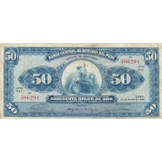 Peru. 1965 m. 50 soles de oro