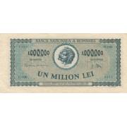 Rumunija. 1947 m. 1.000.000 lėjų
