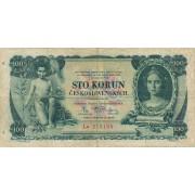 Čekoslovakija. 1931 m. 100 korunų