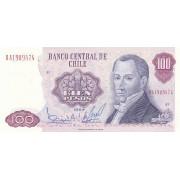 Čilė. 1984 m. 100 pesų. UNC