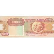 Angola. 1991 m. 500.000 kwanzų