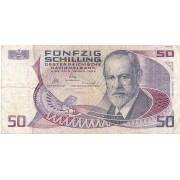Austrija. 1986 m. 50 šilingų