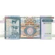 Burundis. 2006 m. 1.000 frankų