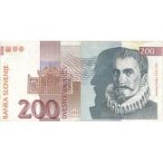 Slovėnija. 1992 m. 200 tolarių
