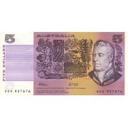 Australija. 1974-1991 m. 5 doleriai