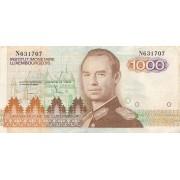 Liuksemburgas. 1985 m. 1.000 frankų