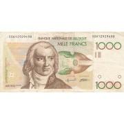 Belgija. 1980-1996 m. 1.000 frankų