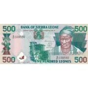 Siera Leonė. 2003 m. 500 leonių. UNC