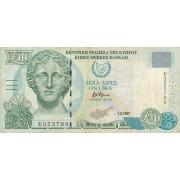 Kipras. 1997 m. 10 svarų