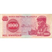 Angola. 1976 m. 1.000 kwanzas
