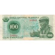 Angola. 1979 m. 100 kwanzas