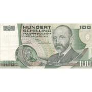 Austrija. 1984 m. 100 šilingų