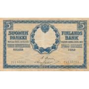 Suomija. 1909 m. 5 markės