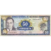 Nikaragva. 1995 m. 50 kordobų