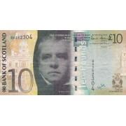 Škotija. 2007 m. 10 svarų