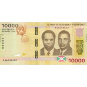 Burundis. 2015 m. 10.000 frankų. UNC