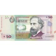 Urugvajus. 2015 (2017) m. 50 pesų. UNC