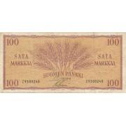 Suomija. 1957 m. 100 markių