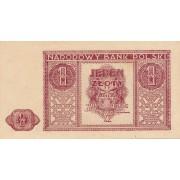 Lenkija. 1946 m. 1 zlotas