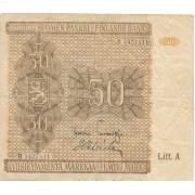 Suomija. 1945 m. 50 markių