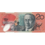 Australija. 2007-2010 m. 20 dolerių. UNC
