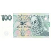Čekija. 1997 m. 100 korunų. UNC
