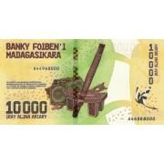 Madagaskaras. 2017 m. 10.000 ariary. UNC